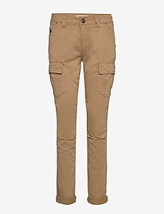 Cheryl Cargo Reunion Pant - straight leg trousers - safari