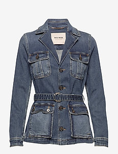 Riva Denim Jacket - denim jackets - blue