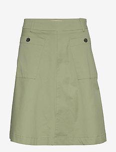 Alice Cole Skirt - midi skirts - oil green