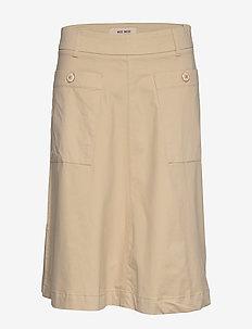 Alice Cole Skirt - midi skirts - safari