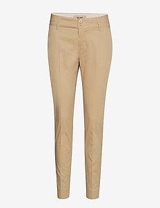 Blake Cole Pant - bukser med lige ben - safari