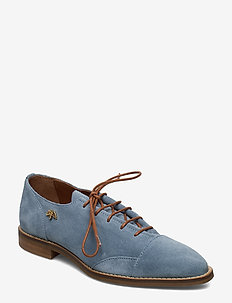 MM Vienna Suede Shoe - laced shoes - blue