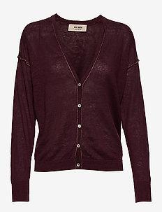 Lark Linen Knit Cardigan - cardigans - sassafras