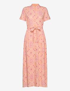 Jessy Vissa Dress SS - shirt dresses - vissa print