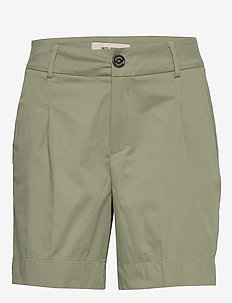 Mika Cole Shorts - casual shorts - oil green