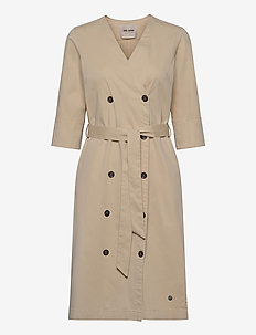 Vinnie Cole Dress - wrap dresses - safari