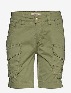 Cheryl Cargo Shorts - casual szorty - oil green