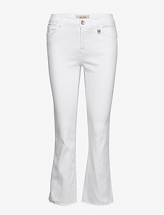 Ashley White Jeans - flared jeans - white