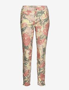 Etta Hanalai Zip Pant - FUSION CORAL FLOWER