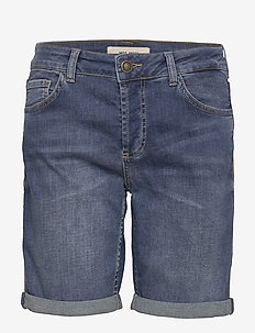 Ava Faith Shorts - denim shorts - blue
