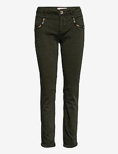 Naomi Jewel G.D Pant - slim fit bukser - duffel bag