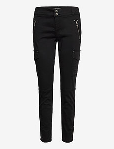 Gilles Cargo Pant - casual trousers - black