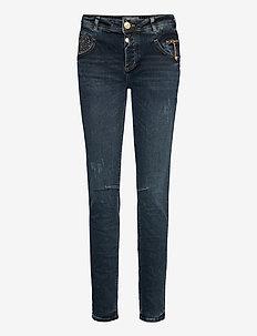 Nelly Heritage Jeans - wąskie dżinsy - blue