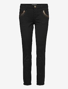 Naomi Mercury Jeans - wąskie dżinsy - black