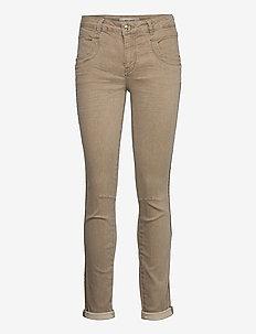 Naomi Clay Jeans - slim jeans - chocolate chip