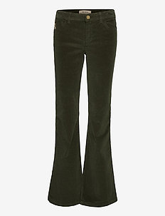Victoria Corduroy Flare Pant - flared jeans - duffel bag