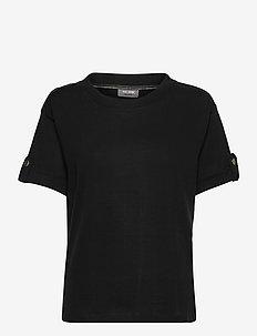 Jessa SS Tee - t-shirts - black