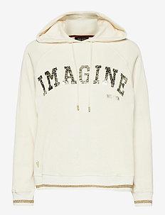 Kash Hoodie Sweatshirt - hoodies - ecru