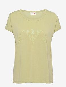 Alba SS Tee - t-shirts - winter pear