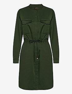 Amy Twill Dress - blousejurken - duffel bag