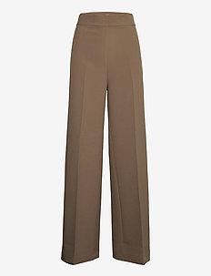 Rita Gaia Pant - bukser med brede ben - chocolate chip