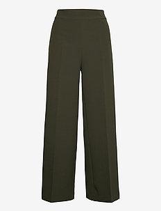 Rita Gaia Pant - bukser med brede ben - duffel bag