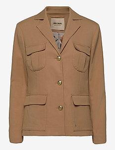 Riva Twiggy Jacket - casual blazers - burro camel