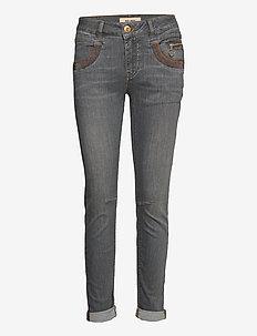 Naomi Shade Jeans - wąskie dżinsy - grey