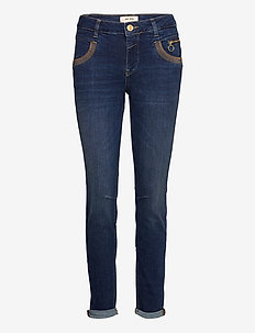 Naomi Shade Blue Jeans - dżinsy skinny fit - blue