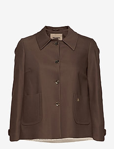 Amber Night Jacket - casual blazers - chocolate chip
