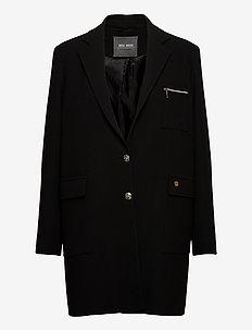 Christie Wall Coat - tunna kappor - black