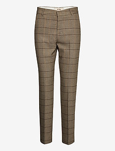 Drew Josie Pant - slim fit bukser - chocolate chip
