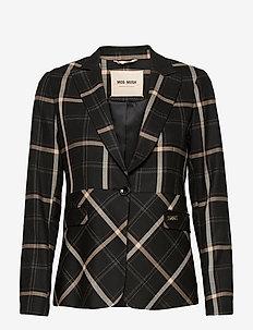 Perry Bento Blazer - blazers - black