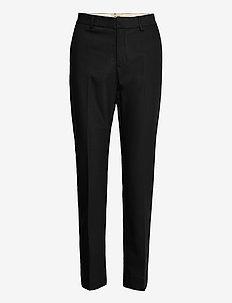 Drew Night Pant - pantalons droits - black