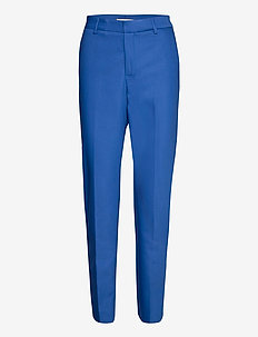 Drew Night Pant - suorat housut - true blue