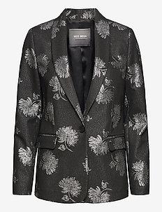 Bena Bold Blazer - blazers - black