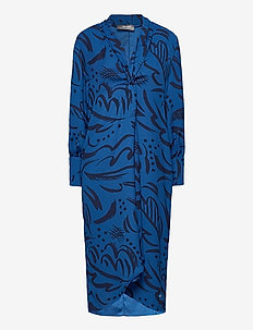 Callie Tory Dress - midi-kleider - true blue