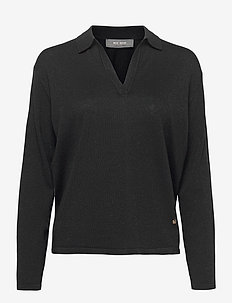 Wylie Lurex Knit - gensere - black