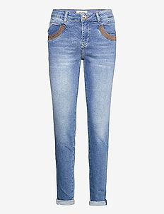 Naomi Amber Jeans - slim jeans - light blue