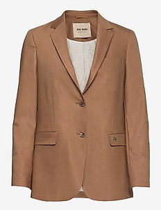 Mary Night Blazer - casual blazers - toasted cocount