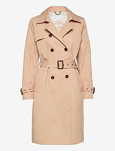 Tea Trench Coat - trenssit - cuban sand