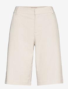 Gio Twiggy Bermuda Shorts - bermudas - ecru