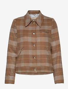 Tally Care Blazer - casual blazere - toasted cocount