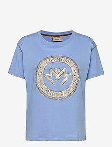 Leah SS Tee - t-shirts - bel air blue