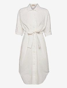 Aslaug Shirt Dress - sommerkjoler - offwhite