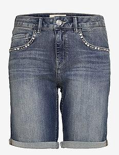 Bradford Ida Shorts - jeansshorts - blue
