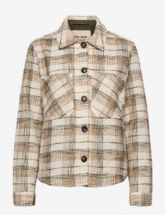 Luca Althea Jacket - overshirts - grape leaf