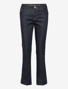 Ashley Braid Hybrid Jeans - straight jeans - dark blue