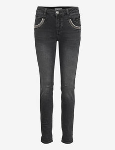 Naomi Shade Washed Jeans - slim jeans - grey wash