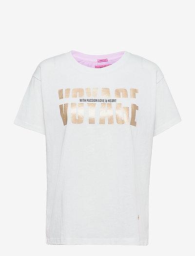 Mex O-SS Tee - t-shirts - white